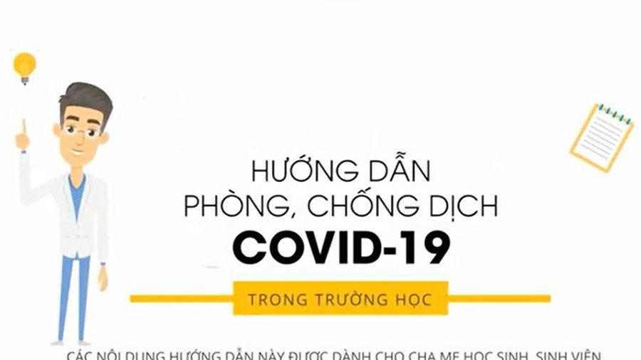 [CLIP] Lưu ý khi đi học trở lại: Hướng dẫn phòng, chống dịch Covid-19 trong trường học