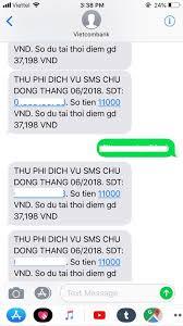 Vietcombank 'khủng bố' khách hàng bằng hàng trăm tin nhắn thu phí