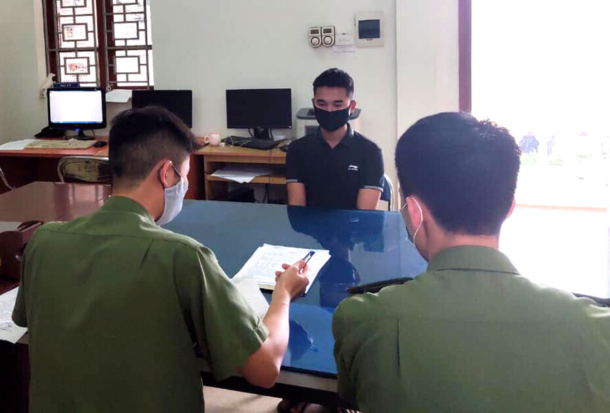 Xử phạt nam thanh niên tung tin có người nhiễm Covid-19 ở huyện Phúc Thọ