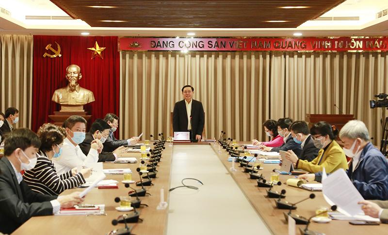 Bí thư Thành ủy Vương Đình Huệ: Báo chí Hà Nội phải sáng tạo hơn để lan tỏa các thông tin của Thành phố