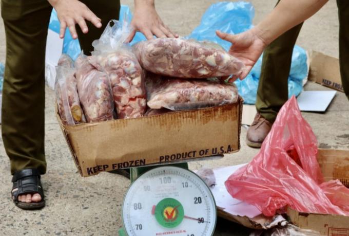 Đắk Lắk: Tạm giữ số lượng lớn sản phẩm động vật không rõ nguồn gốc