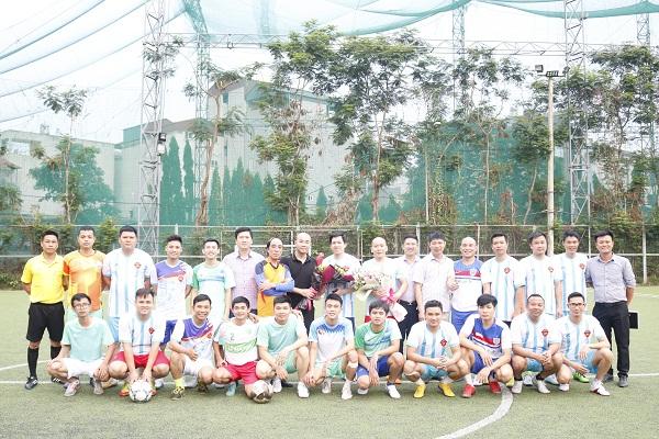 CLB Liên quân các nhà báo Hà Nội giao lưu bóng đá chào mừng Ngày báo chí Cách mạng Việt Nam