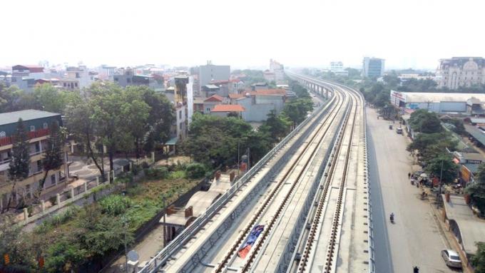 Dự án đường sắt đô thị Nhổn - ga Hà Nội: Khó về đích do vướng mặt bằng?