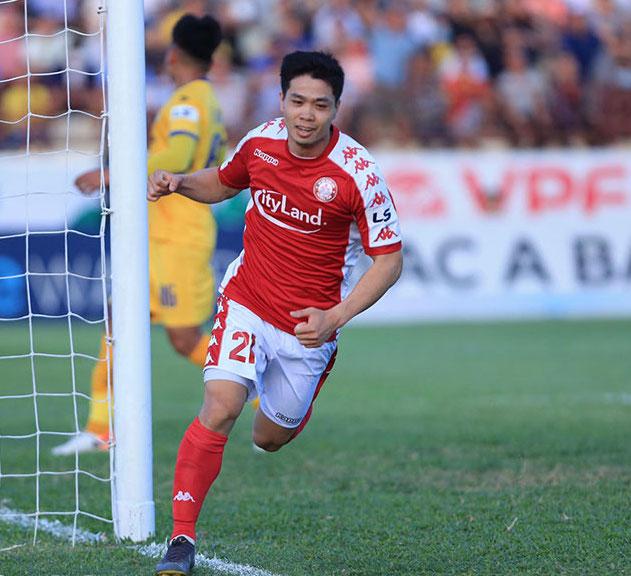 Công Phượng ghi bàn, CLB TP HCM leo lên đỉnh bảng xếp hạng V-League 2020