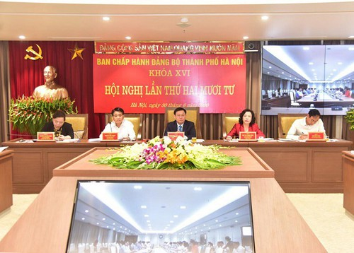 Hà Nội xem xét giữ nguyên hiện trạng 77 nhà dân trong ô đất dự án hồ điều hòa phường Vĩnh Tuy