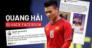 Bị hack Facebook, lộ hàng loạt chuyện thầm kín, Quang Hải nói gì?