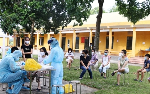 Điểm cách ly tại Thanh Hóa có thêm 14 ca mắc Covid-19 trở về từ nước ngoài