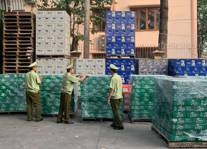 Hơn 14.500 lon bia giả mạo, xâm phạm nhãn hiệu bia Sài Gòn