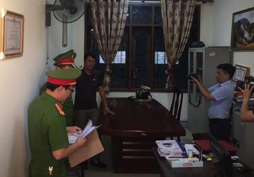 Quyền trưởng phòng và giám đốc một doanh nghiệp tại Nghệ An bị khởi tố