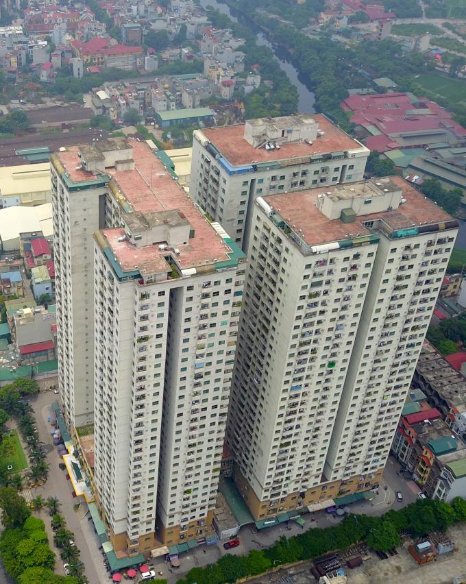 Gần 200 hộ dân ở chung cư của