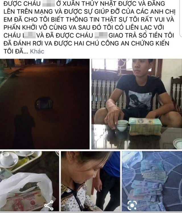 """Phú Thọ: Dựng chuyện """"trả lại 136 triệu đồng"""" để... được nổi tiếng"""