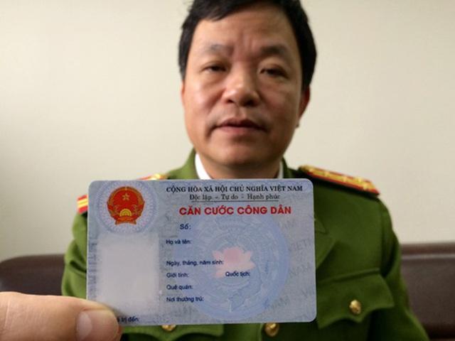 Khuyến nghị người dân 16 tỉnh, thành không vội đổi thẻ Căn cước công dân