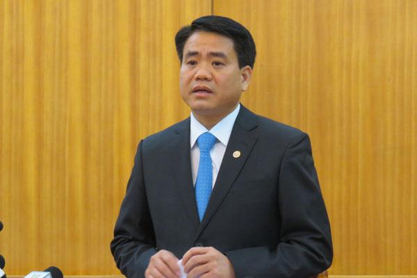 Khởi tố, bắt tạm giam Chủ tịch TP Hà Nội Nguyễn Đức Chung
