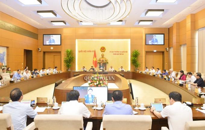 Sáng nay (10/8), khai mạc phiên họp thứ 47 của Ủy ban Thường vụ Quốc hội