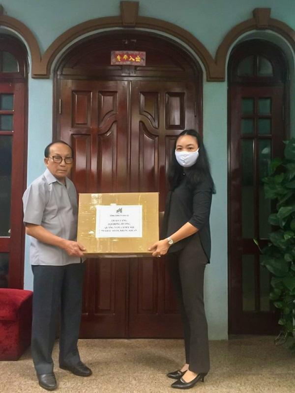 Đồng hương Quảng Nam tại Hà Nội hỗ trợ quê nhà chống dịch