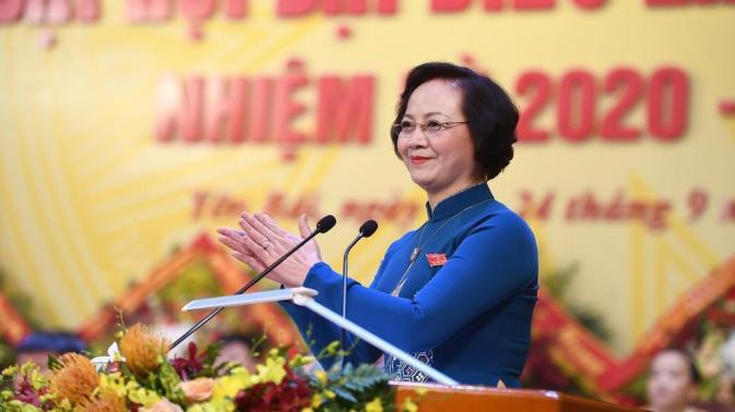 Bà Phạm Thị Thanh Trà được Trung ương điều động giữ chức Thứ trưởng Bộ Nội vụ