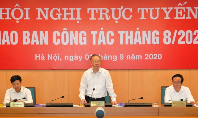Hà Nội: Yêu cầu chủ tịch UBND quận, huyện phải đi kiểm tra thực tế công tác phòng, chống dịch Covid-19