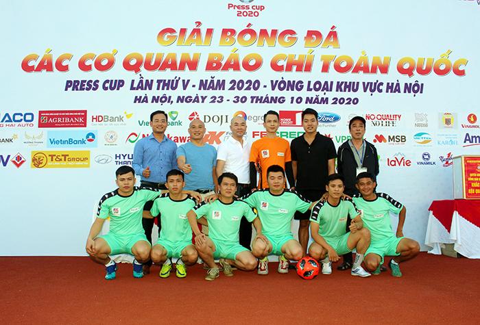 Hà Nội: Press Cup 2020 chính thức khai mạc, phát động ủng hộ đồng bào miền Trung