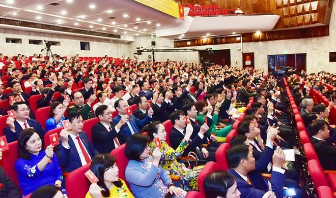 Ban Chấp hành Đảng bộ thành phố Hà Nội khóa XVII họp phiên thứ nhất