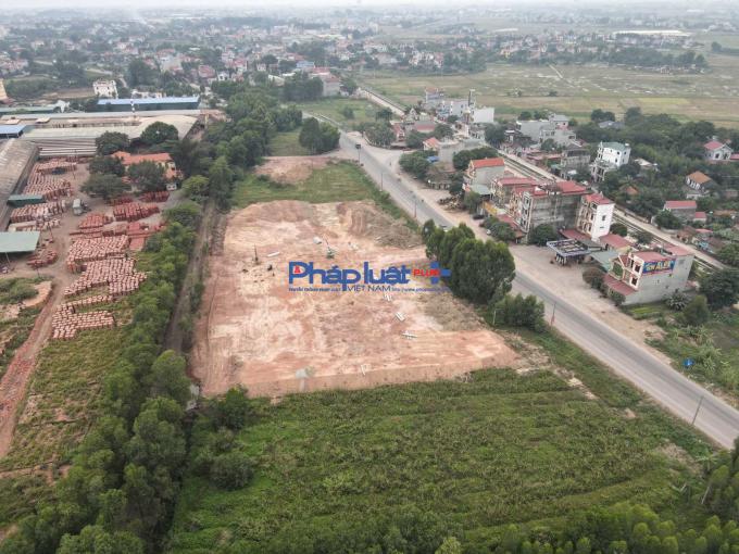 Công ty Đại Quang lấn chiếm hành lang ATGT: Huyện Lạng Giang xin