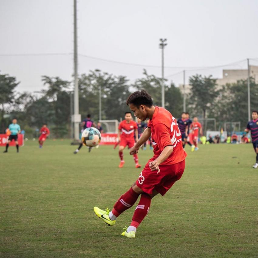 Cựu tuyển thủ trẻ U21 Quốc gia Đàm Tiến Dũng thay đổi để phát huy chính mình