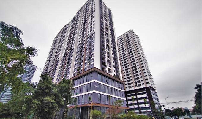 Tòa nhà NO1-T1 Ngoại Giao Đoàn chưa được nghiệm thu, cư dân sống trong sợ hãi
