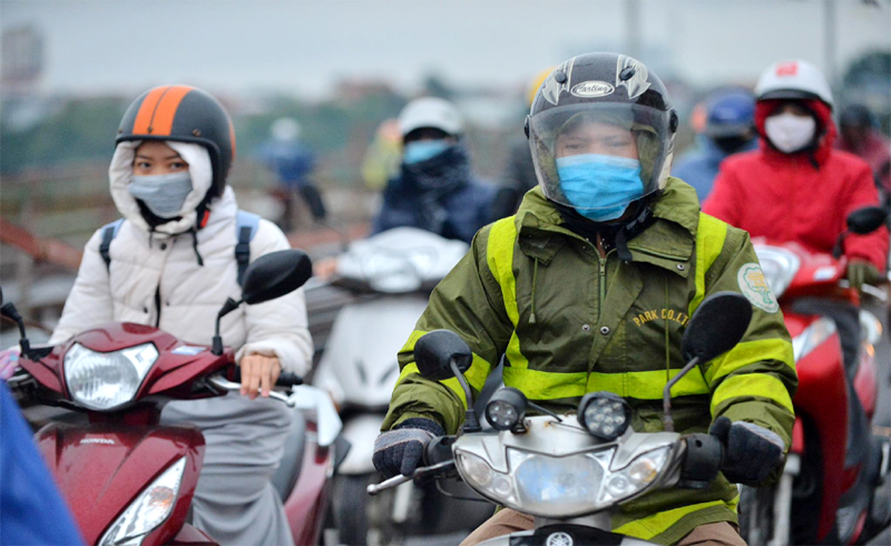 Thời tiết hôm nay 24/12: Hà Nội có mưa nhỏ vài nơi, nhiệt độ thấp nhất 16 độ C