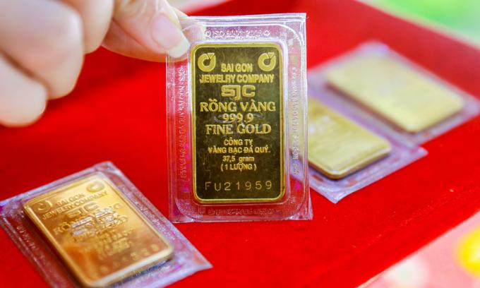 Giá vàng hôm nay 9/1: Nước Mỹ trở lại ổn định, giá vàng lao dốc
