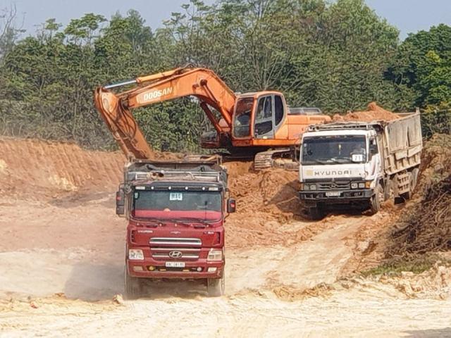 """""""Đất tặc"""" ở huyện Tam Dương lại tiếp tục lộng hành sau ít ngày bị xử lý"""