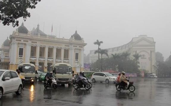 Thời tiết hôm nay 24/1: Hà Nội sáng và đêm trời rét, có mưa phùn và sương mù