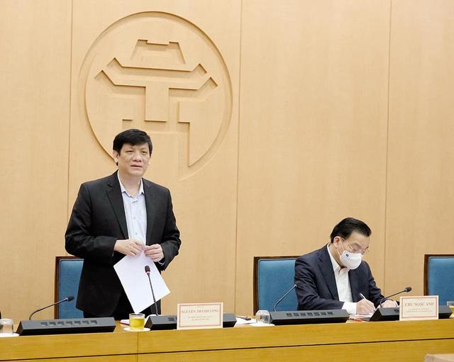 Bộ trưởng Y tế lo ngại về tình hình dịch tại TP Hà Nội