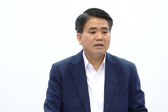 Cựu Chủ tịch TP Hà Nội Nguyễn Đức Chung tiếp tục bị khởi tố thêm tội danh