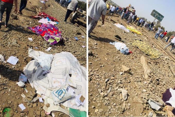 Ai Cập: Tàu hỏa trật bánh, hơn 100 người thương vong