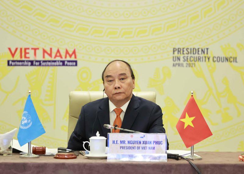 Chủ tịch nước Nguyễn Xuân Phúc: Lòng tin và đối thoại là giải pháp cho nền hòa bình bền vững