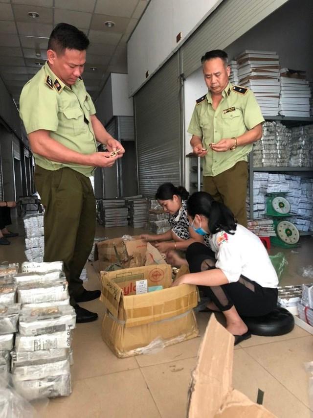 Quảng Ninh: Hơn 7.000 sản phẩm nhập lậu bị thu giữ
