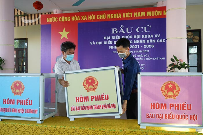 Hà Nội đẩy mạnh tuyên truyền về bầu cử bằng nhiều hình thức