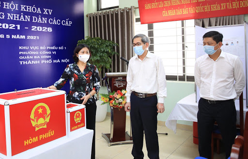 Hà Nội: Chủ động các kịch bản cho ngày bầu cử