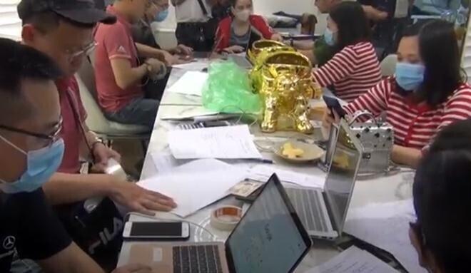 Triệt phá 4 sàn giao dịch vàng, tiền ảo 'khủng' ở Hà Nội
