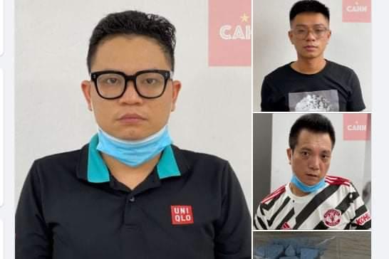 Hà Nội: Bắt nhóm thanh niên thuê khách sạn sử dụng trái phép chất ma túy bất chấp dịch Covid -19