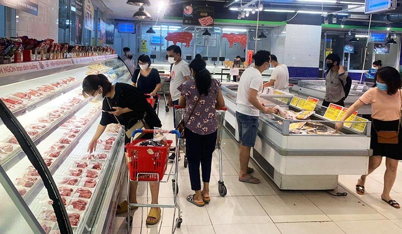Hà Nội công khai giá 7 nhóm mặt hàng thiết yếu trong thời gian giãn cách