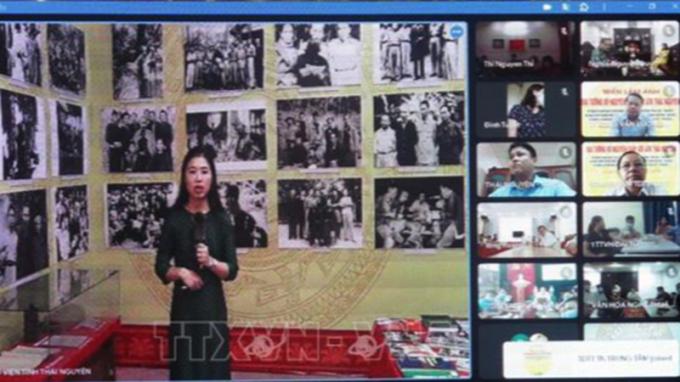 Triển lãm ảnh trực tuyến về Đại tướng Võ Nguyên Giáp