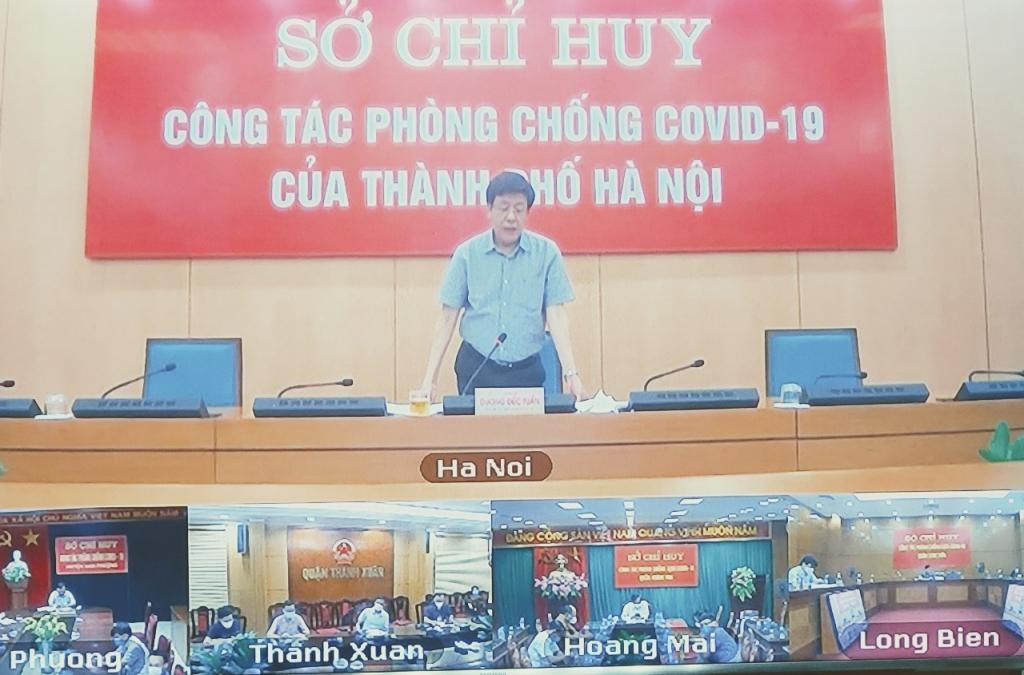 Sau ngày 21/9, Hà Nội chống dịch trọng tâm tại các