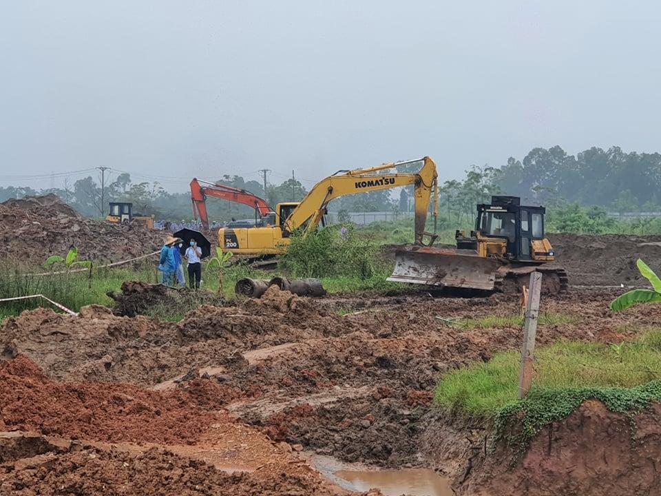 Yên Lạc (Vĩnh Phúc): Cưỡng chế GPMB 6 hộ dự án Cụm công nghiệp làng nghề Minh Phương