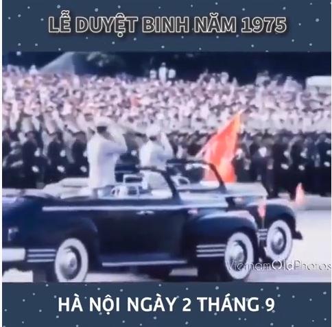 Lễ duyệt binh năm 1975 ở Sài Gòn và Hà Nội