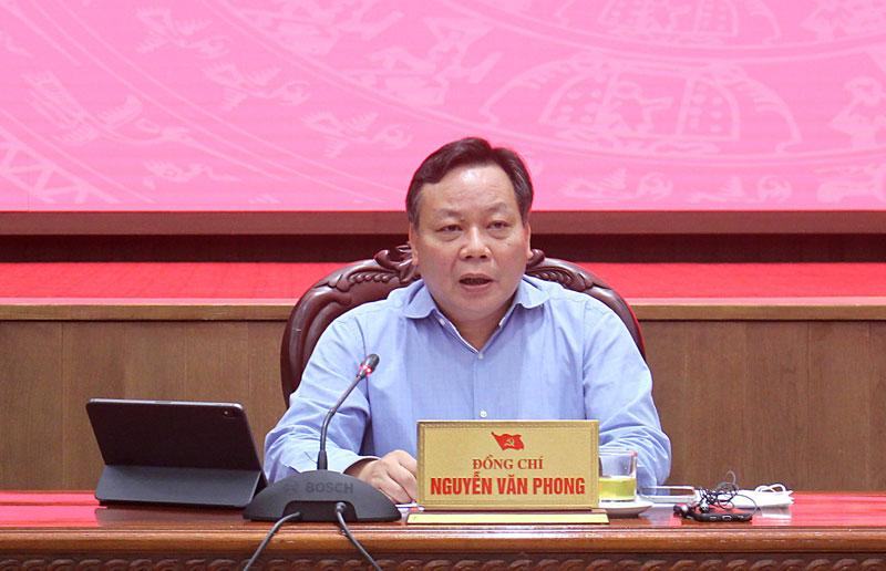 Phó Bí thư Thành ủy Hà Nội Nguyễn Văn Phong: Thực hiện giãn cách xã hội đạt 5 kết quả quan trọng