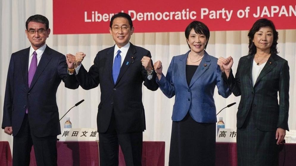 4 ứng cử viên cho chức thủ tướng Nhật Bản