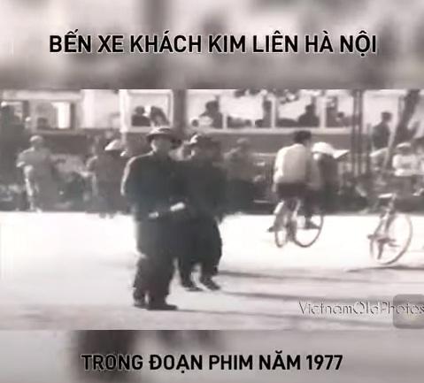 Bến xe khách Kim Liên Hà Nội xưa
