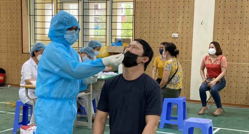Liên quan đến Bệnh viện Hữu nghị Việt Đức đã ghi nhận 66 ca mắc Covid-19