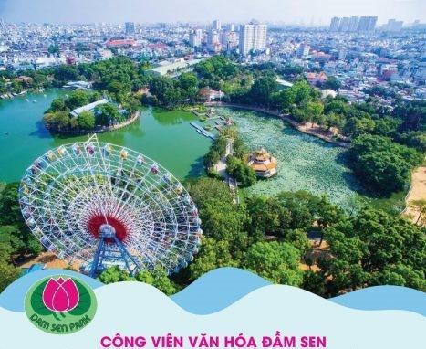 Công ty Dịch vụ Du lịch Phú Thọ vi phạm quản lý, cho thuê đất tại Công viên Đầm Sen