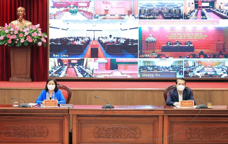 Hà Nội: 9 tháng năm 2021 kiểm tra 94 tổ chức Đảng và 171 đảng viên